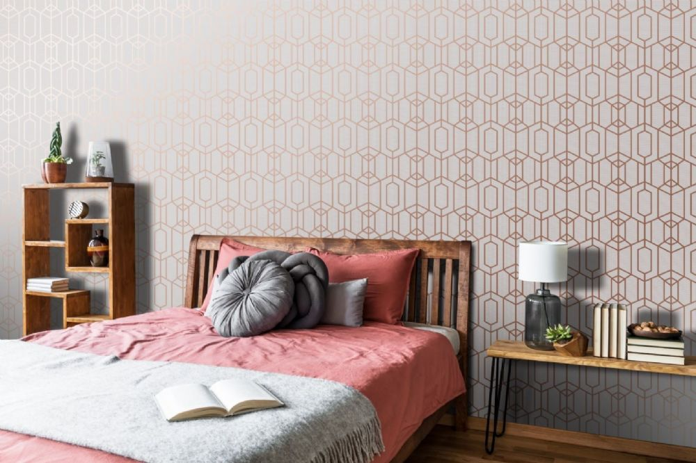 Graham and Brown Albany Grey 106582 Wallpaper PB